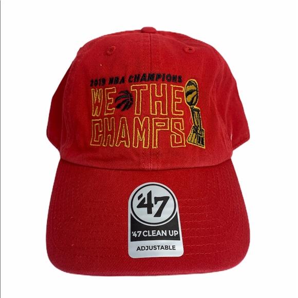 Toronto Raptors NBA Championship Hat Cap New NWT